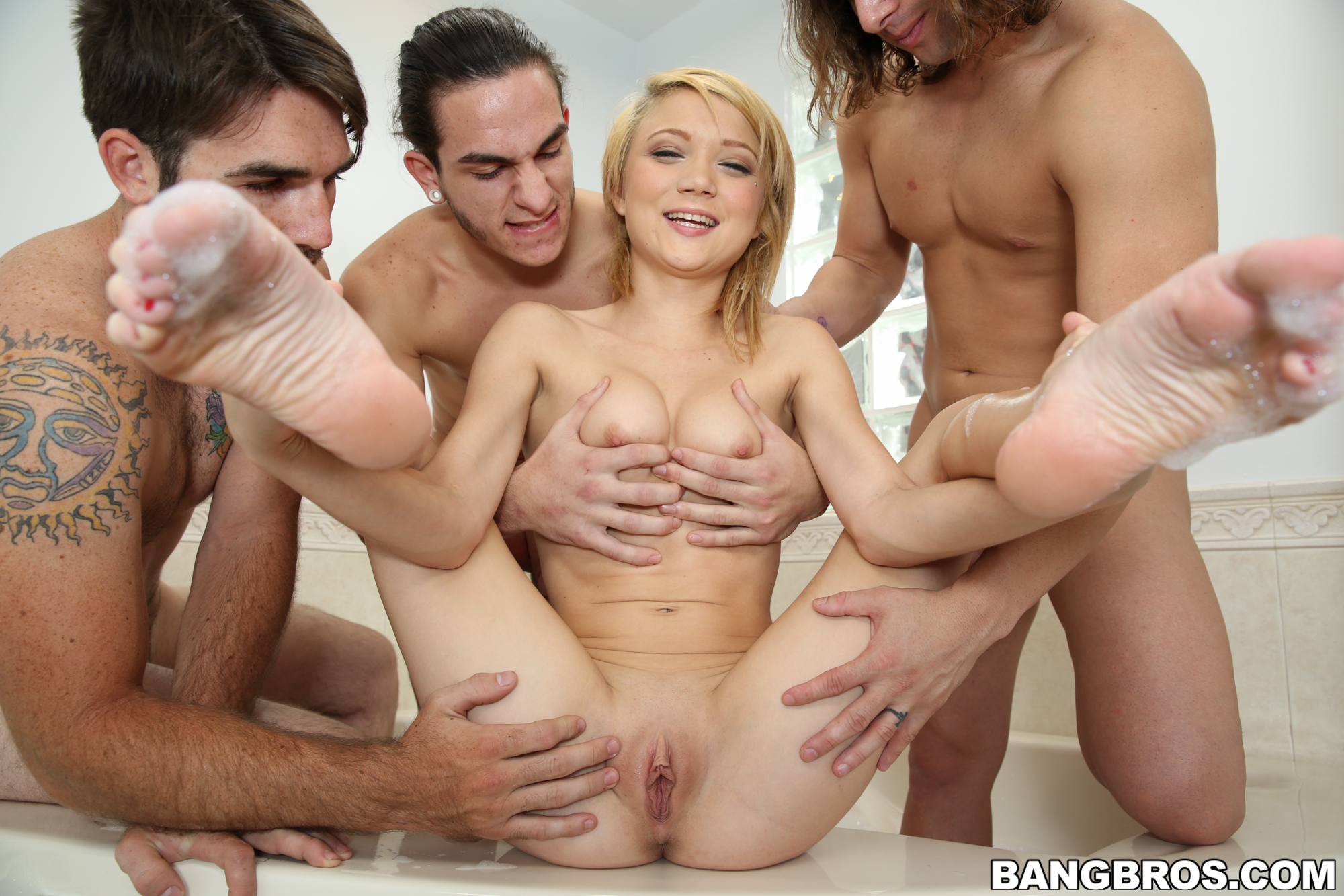 college gang bang
